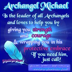 Quotes About Strength QUOTATION - Image : As the quote says - Description Archangels - Archangel information - Archangel assistance - Calling on your All Archangels, Angel Protector, Archangel Prayers, Angel Guide, Angel Quotes, I Believe In Angels, Archangel Michael, Archangel Azrael, Angel Cards