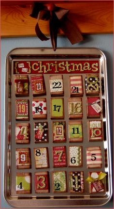 Matchbox Advent Calendar! DIY!