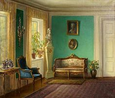 Hans Hilsoe, 'The Drawing Room' (1935)