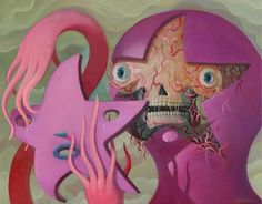 ..MondoPop - Charlie Immer - Flayed Face..
