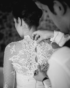 #gettingready #together ! #dress #bride #groom #love