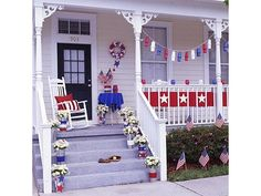 easy crafts for July 4th - Home and Garden Design Idea's