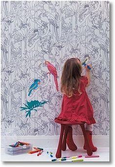 stardt bemalung als eine super farbidee f r die wand im kinderzimmer 62 kreative w nde. Black Bedroom Furniture Sets. Home Design Ideas