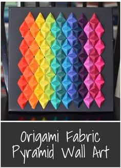 Origami is a good effort to utilize your time as well as produce valuable gifts of religious value. Origami Design, Diy Origami, Paper Boat Origami, Origami Wall Art, Fabric Origami, Paper Crafts Origami, Origami Folding, Origami Tutorial, Origami Boxes
