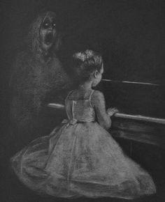 The dreaded piano recital with banshee soprano. The Piano Recital Paranormal Society, Paranormal Romance, Paranormal Stories, Creepy Photography, Dark Photography, Paranormal Pictures, Creepy Art, Creepy Stuff, Creepy Things