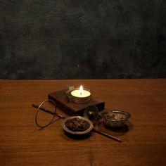 Aromalampa - vykuřovadlo Mantra