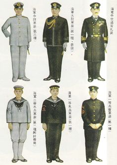 Dress uniforms of the Imperial Japanese Navy