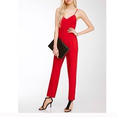 ✨Sexy Red Jumpsuit✨ New. Looks exactly like web pictures. ⛔️ COMMENTS ABOUT TRADES AND PAYPAL WILL BE IGNORED ⛔️ Price Firm. Forever 21 Pants Jumpsuits & Rompers