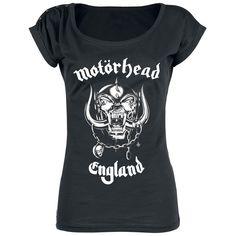 Motörhead  T-shirt  »England« | Nu te koop bij Large | Meer Band merch  T-shirts online beschikbaar - De beste prijs!
