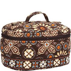 Vera Bradley Home & Away Cosmetic in Canyon. I love this cosmetic bag! Just picked it up in this canyon print.
