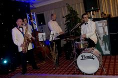 one of the bands we work with in action!