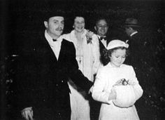 shirleytemple.com The Little Princess premiere: My parents and I with Darryl Zanuck, 1938 (Author's private collection)