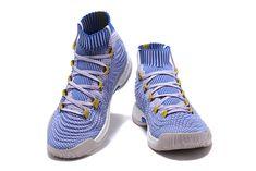 free shipping 05027 a57a5 2017 2018 Basketball Shoes adidas Crazy Explosive 2017 Primeknit White Blue