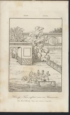 Chinese Babies Little Children Comrades Court 1837 Antique Engraved China Print | eBay