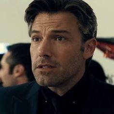 The stylish silver collar pin that Ben Affleck (Bruce Wayne) wears in Batman v Superman: Dawn of Justice (2016) #style #fashion #stylish #silver…