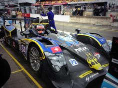 Jeroen Bleekemolen getting ready for Morning Warmup at #LeMans.