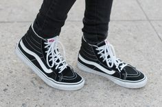 Dress Like Jess: Black, White & Gold  www.dresslikejess.us/2014/11/black-white-gold.html  @vans Sk8-Hi Slim