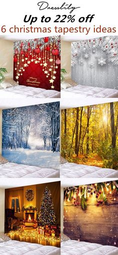 Christmas Tapestry W Christmas Tapestry Wall Art Decoration Ideas. Christmas Booth, Christmas Mini Sessions, Christmas Crafts, Christmas Decorations, Christmas Ornaments, Holiday Decor, Yule Decorations, Xmas, Tapestry Wall