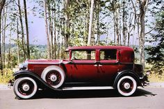 1930 Nash - this is one of my favorite Nash cars.