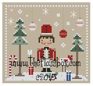 The Floss Box | The Nutcracker Cross Stitch