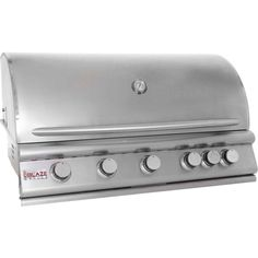 Blaze 40 Inch 5-Burner Gas Grill With Rear Burner BLZ-5