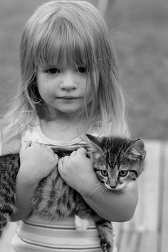 """""""Can I keep him, daddy...? Pwease, can I keep him?"""" June looked up at Abby and then bailey with her big, blue, saucer round, pleading eyes. Raising an eyebrow, Abby glanced at Bailey and smirked. """"You gonna answer the child? I'm not going to be the badguy who resists her today."""" """"Oh, come on! How can you do that to me?!"""" He complained as he looked down at little June who held the small kitten as if it would break with the littlest of touches. #angelinazoe"""
