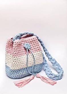 Crochet bag pattern Crochet tutorial Bryce bag PDF pattern