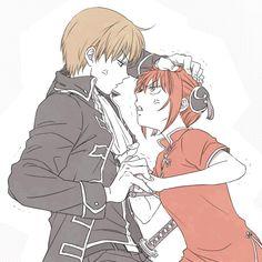Okita y Kagura :3
