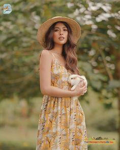 "Gabbi Garcia ♡ on Instagram: ""perfect dress for a sunny day 🌞 @benchtm"" Gabbi Garcia Instagram, Sunny Days, Sunnies, Dresses, Makeup, Brunette Girl, Vestidos, Make Up, Sunglasses"