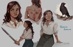 So I've been reading Breaking Legacies, and I just love Ava so damn much TvT