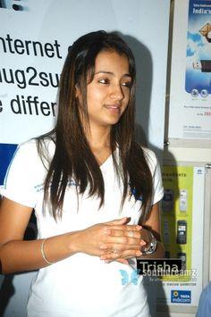 Tata India, Trisha Actress, Trisha Photos, Trisha Krishnan, Most Beautiful Indian Actress, Indian Beauty, Indian Actresses, Bollywood, T Shirts For Women