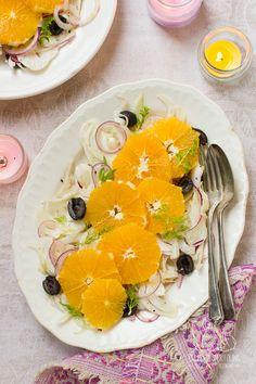 Sałatka z pomarańczy i kopru włoskiego Chilli, Blog, Blogging