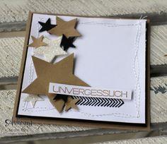 """Stamping & Blogging Sketch78 Karte """"Unvergesslich"""" (ScrapAround)"""