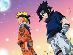 Naruto & Sasuke Naruto Vs Sasuke, Naruto Fan Art, Anime Naruto, Naruto Team 7, Naruto Sasuke Sakura, Anime Ninja, Itachi Uchiha, Anime Boys, Uchiha Wallpaper