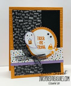 Halloween Punch, Cute Halloween, Halloween Cards, Halloween 2020, Halloween Stuff, Halloween Ideas, Fall Cards, Holiday Cards, Thanksgiving Cards