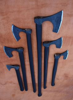 januarys axes by Owen Bush, via Flickr