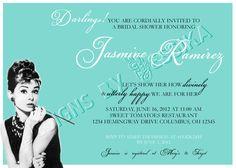 Breakfast at Tiffany's Bridal Shower Invitation by jesuisjessika, $10.00