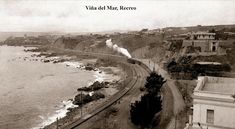 Imágenes de Chile del 1900: Viña del Mar Railroad Tracks, Country Roads, Outdoor, Internet, Twitter, Social Stories, Funny Pictures, Historical Photos, Outdoors