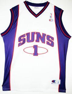 Champion NBA Basketball Phoenix Suns #1 Amare Stoudemire Trikot / Jersey Size XL - 69,90€ #nba #basketball #trikot #jersey #ebay #sport #fitness #fanartikel #merchandise #usa #america #fashion #mode #collectable #memorabilia #allbigeverything