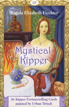 Mystical Kipper Deck. Very much like Lenormand, but more people cards. Edwardian theme.