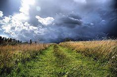 dark stormy clouds...my favorite
