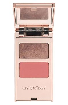 Apparently #KateMoss can't live without Charlotte Tilbury's 'Filmstars On the Go' Palette in All About Eve #blush