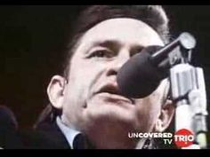 Johnny Cash at San Quentin (live from prison)  Elvis was the king, Johnny, the legend