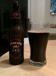 Wednesday, November 27, 2013: Storm King Stout, Victory Brewing Company.  http://www.victorybeer.com/beers/stormking/