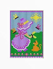 SUMMER SUNBONNET BEADED BANNER PATTERN