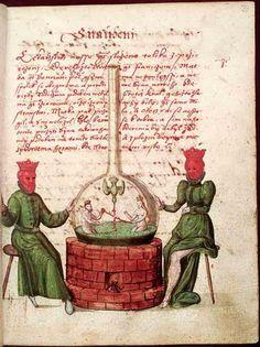 Národní knihovna České republiky [National Library of the Czech Republic], XVII.E.77, f. 30r. Jaroš Griemiller z Třebska. Rosarium philosophorum (1578)