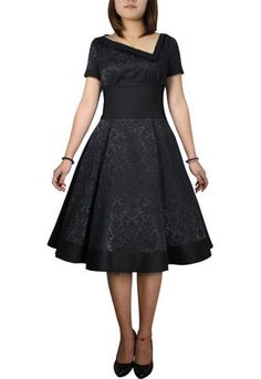 Asymmetric Jacquard Dress Lia Kell $5 Auction ---Plus and Standard Size--- Save 37% at ChicStar.com --Coupon: AMBER37