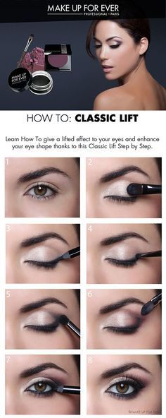 Radiant eye make-up - Beauty + Make Up - . - Radiant eye make-up – Beauty + Make Up – make up - Eye Makeup Tips, Makeup Inspo, Makeup Inspiration, Makeup Ideas, Makeup Eyeshadow, Eyeshadows, Makeup Trends, Easy Eye Makeup, Small Eyes Makeup