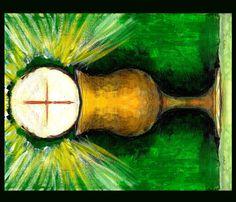 Eucharist Wall Hanging fabric by brandymiller on Spoonflower - custom fabric