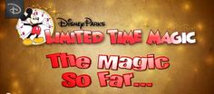 17 Favorite 'Limited Time Magic' Experiences at Disney Parks